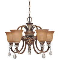 Minka-Lavery Aston Court 5 Light Chandelier in Aston Court Bronze 174-206