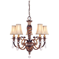 Minka-Lavery Aston Court 5 Light Chandelier in Aston Court Bronze 1745-206