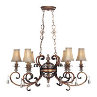 Minka-Lavery Aston Court 6 Light Chandelier in Aston Court Bronze 1746-206