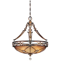 Minka-Lavery 1747-206 Aston Court 3 Light 25 inch Aston Court Bronze Pendant Ceiling Light
