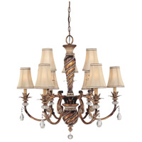Aston Court 9 Light 33 inch Aston Court Bronze Chandelier Ceiling Light