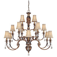 Minka-Lavery Aston Court 15 Light Chandelier in Aston Court Bronze 1749-206