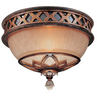 Minka-Lavery Aston Court 1 Light Flushmount in Aston Court Bronze 1754-206