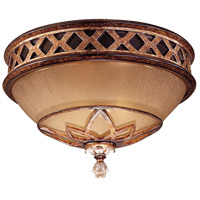 Aston Court 2 Light 13 inch Aston Court Bronze Flush Mount Ceiling Light