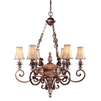 Minka-Lavery Aston Court 7 Light Chandelier in Aston Court Bronze 1758-206