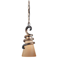Signature 1 Light 6 inch Tofino Bronze Mini Pendant Ceiling Light