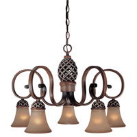 Minka-Lavery Cabella 5 Light Chandelier in Cabella Patina 1796-216