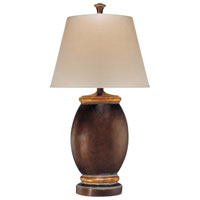 Minka-Lavery Signature 1 Light Table Lamp in Barclay Gold 18005-0