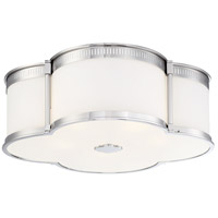 Minka-Lavery 1824-613-L ML LED 22 inch Polished Nickel Flush Mount Ceiling Light