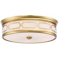 Minka-Lavery 1826-249-L Signature LED 20 inch Liberty Gold Flush Mount Ceiling Light
