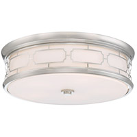 Signature 5 Light 20 inch Polished Nickel Flush Mount Ceiling Light
