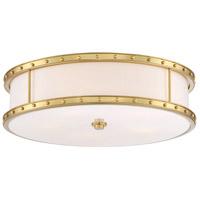 Minka-Lavery 1827-249-L ML LED 20 inch Liberty Gold Flush Mount Ceiling Light