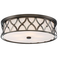 Signature 5 Light 20 inch Harvard Court Bronze Flush Mount Ceiling Light