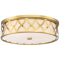 Minka-Lavery 1840-249 Signature 5 Light 20 inch Liberty Gold Flush Mount Ceiling Light