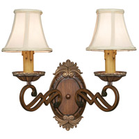 Minka-Lavery Belcaro 2 Light Sconce in Belcaro Walnut 1944-126