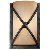 Minka-Lavery 1974-1-138 Aspen II 1 Light 6 inch Aspen Bronze Wall Sconce Wall Light