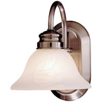 Contractor Series 1 Light 8 inch Bath Wall Light