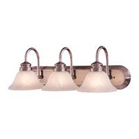 Contractor Series 3 Light 24 inch Bath Wall Light