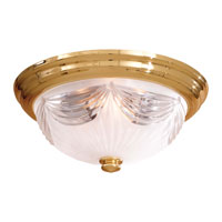 Minka-Lavery 2225-22 Contractor Series 3 Light 15 inch Flushmount Ceiling Light photo thumbnail