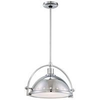 Minka-Lavery Signature 1 Light Pendant in Chrome 2249-77