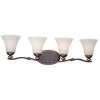 Minka-Lavery 2284-589 Shadowglen 4 Light 32 inch Lathan Bronze/Gold Bath Bar Wall Light