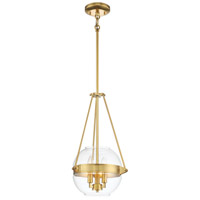 Minka-Lavery 2290-249 Atrio 3 Light 12 inch Liberty Gold Pendant Ceiling Light