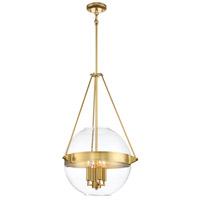 Minka-Lavery 2292-249 Atrio 4 Light 19 inch Liberty Gold Pendant Ceiling Light