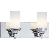 Brushcreek 2 Light 16 inch Chrome Bath Bar Wall Light