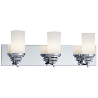 Brushcreek 3 Light 24 inch Chrome Bath Bar Wall Light