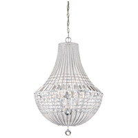 Minka-Lavery 2349-77 Braiden 9 Light 22 inch Chrome Pendant Ceiling Light