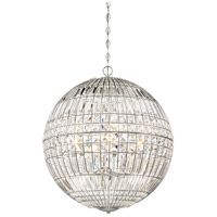Palermo 6 Light 24 inch Chrome Pendant Ceiling Light