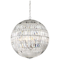 Palermo 8 Light 28 inch Chrome Pendant Ceiling Light