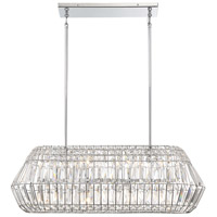 Minka-Lavery 2368-77 Braiden 8 Light 38 inch Chrome Island Light Ceiling Light