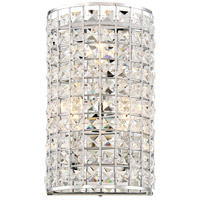 Palermo 3 Light 7 inch Chrome Wall Sconce Wall Light