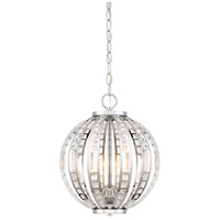 Palermo 4 Light 12 inch Chrome Pendant Ceiling Light