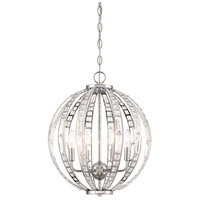 Palermo 6 Light 16 inch Chrome Pendant Ceiling Light