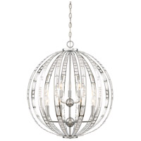 Palermo 9 Light 24 inch Chrome Pendant Ceiling Light