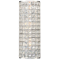 Palermo 3 Light 6 inch Chrome Wall Sconce Wall Light