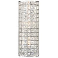 Minka-Lavery 2380-77 Palermo 3 Light 6 inch Chrome Wall Sconce Wall Light