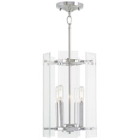 Minka-Lavery 2393-77 Beacon Trace 4 Light 10 inch Chrome Pendant Ceiling Light