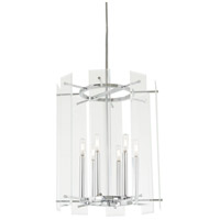 Minka-Lavery 2396-77 Beacon Trace 6 Light 18 inch Chrome Pendant Ceiling Light