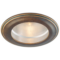 Minka-Lavery Signature 4in Recessed Trim in Deep Flax Bronze 2716-288