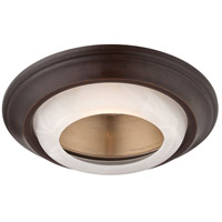 Minka-Lavery Signature 6in Recessed Trim in Dark Restoration Bronze 2718-37B