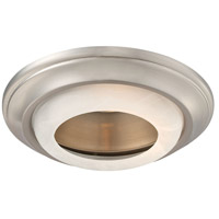 Paradox Brushed Nickel Recessed Trim, 6 Inch