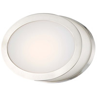 Pearl LED 7 inch Polished Nickel Bath Wall Light