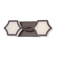 Minka-Lavery Signature Vanity Light in Harvard Court Bronze (Plated) 2912-281-L