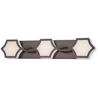 Minka-Lavery 2913-281-L Vestige LED 27 inch Harvard Court Bronze Plated Bath-Bar Lite Wall Light