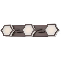 Vestige LED 27 inch Harvard Court Bronze Plated Bath Wall Light
