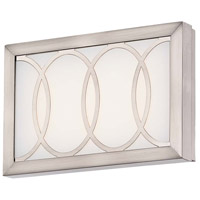 Celice LED 9 inch Brushed Nickel Bath Wall Light