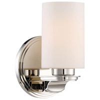 Arrondir 1 Light 6 inch Polished Nickel Bath Light Wall Light